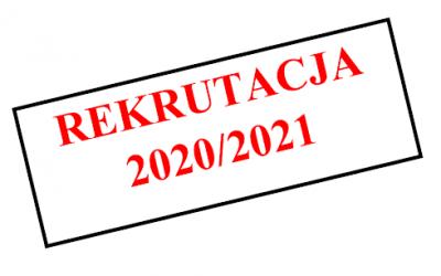 LISTY PRZYJĘTYCH DO OGÓLNOKSZTAŁCĄCEGO LICEUM AKADEMICKIEGO JEZUITÓW NA ROK SZKOLNY 2020/2021