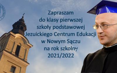 TRWA Rekrutacja do Niepublicznej Szkoły Podstawowej Jezuitów w JCE na rok szkolny 2021/2022
