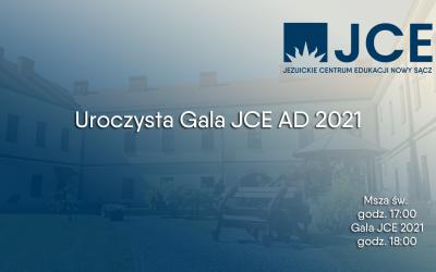Uroczysta Gala JCE AD 2021