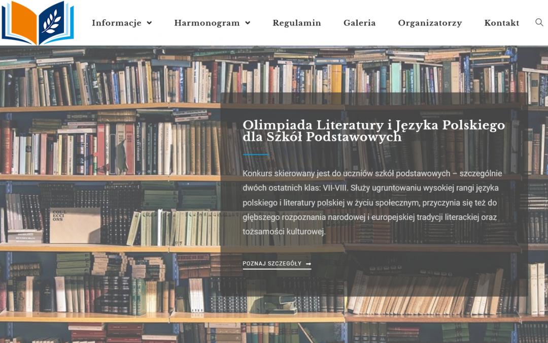 Magdalena Szczerba finalistką II Olimpiady Literatury i Języka Polskiego dla SP