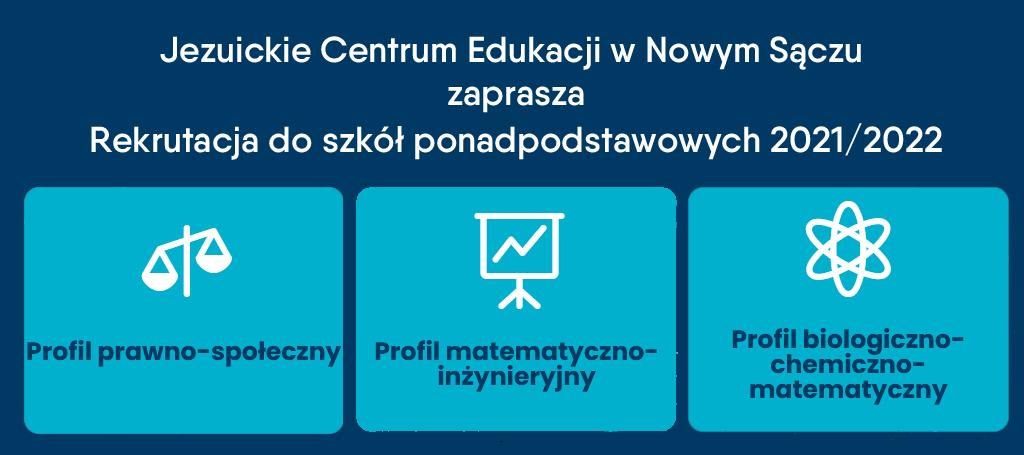 Rekrutacja do OLAJ JCE na rok szkolny 2021/2022 ruszyła
