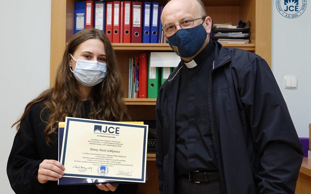 Sukces Hani Sobkowskiej z klasy 1C LO JCE